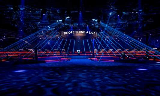 Eurovision organisers remain optimistic yet realistic about event in May