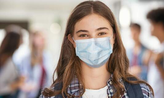 Urgent government advice: Mandatory face masks in secondary schools