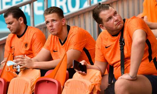 Fans left disappointed after Dutch team loses 2-0 to Czech Republic