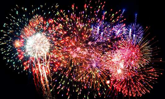 New Year's Eve firework shows in the Netherlands