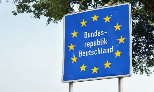 Random checks and fines for travellers at Belgian and German borders
