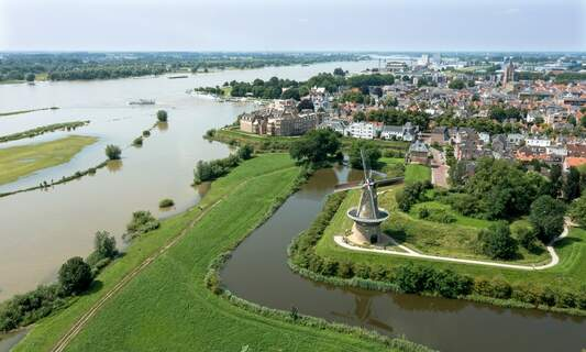 South Holland city voted the Netherlands' most beautiful fortified town