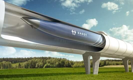 Hyperloop: Amsterdam to Frankfurt Airport in just 50 mins