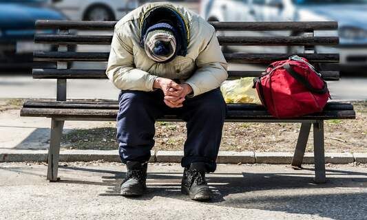 Homelessness in the Netherlands has more than doubled since 2009