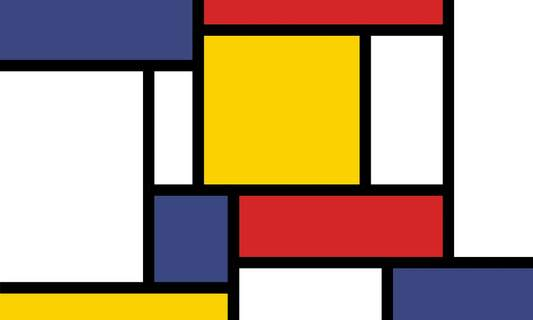 The life of the Dutch artist Piet Mondrian