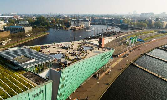 8 best rooftop bars in Amsterdam