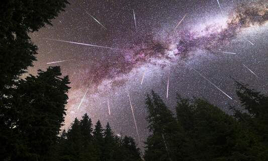 Catch the Perseids meteor shower as it peaks over the Netherlands next week
