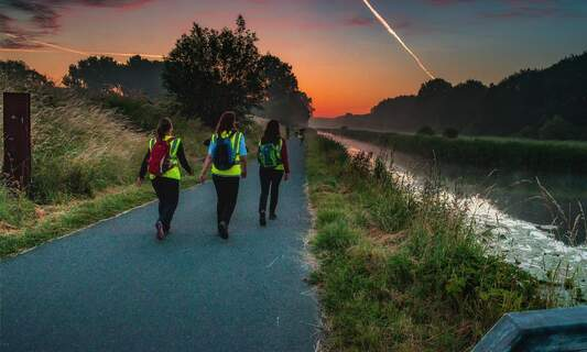 Night of the Refugee charity walk
