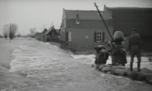 Today in Dutch history: the 1953 North Sea flooding disaster