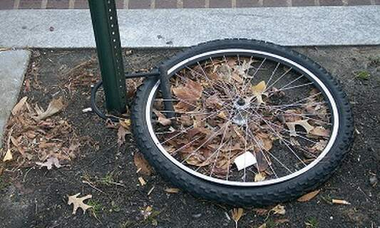 Foreign students' bikes are stolen less often