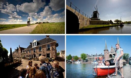 Hike, bike, float or drive the Elfstedentocht all year long