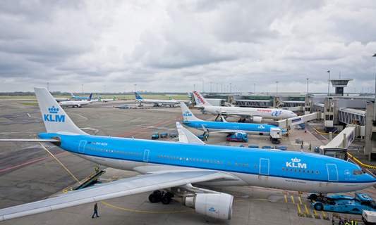 Huge increase in travellers through Dutch airports