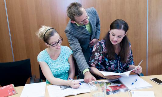 Language courses at UvA Talen