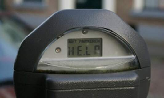 Paid parking in The Hague by card only