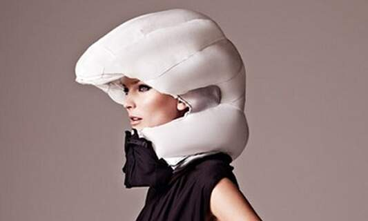 """""""Invisible"""" bicycle helmet offers new twist on cycling safety"""