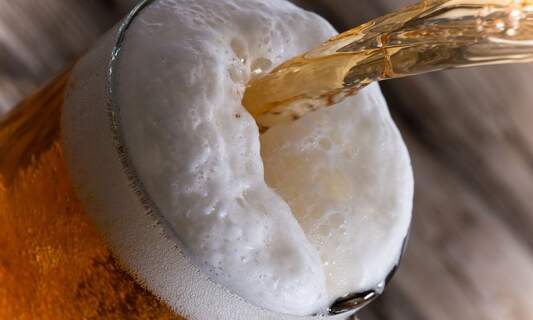 Netherlands has one of the lowest rates of alcohol consumption in Europe