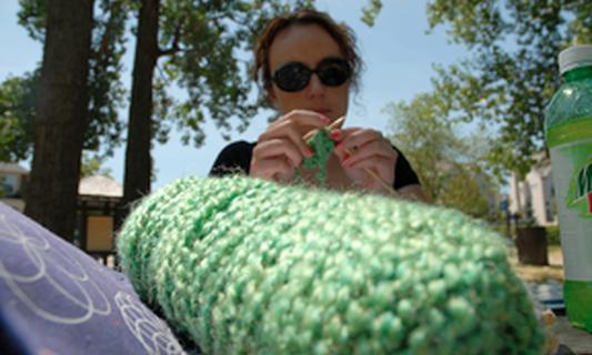 Like knitting? Go to the Zoo!