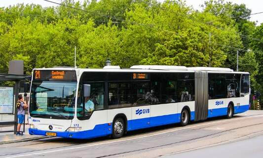 Cashless payments for Amsterdam transport in 2017