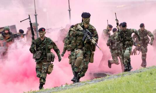 Dutch armed forces second in the world for LGBT inclusion