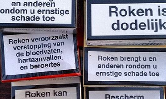 Tobacco warning labels ineffective, may actually backfire