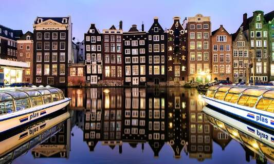 Amsterdam is Europe's 8th most popular city for tourists