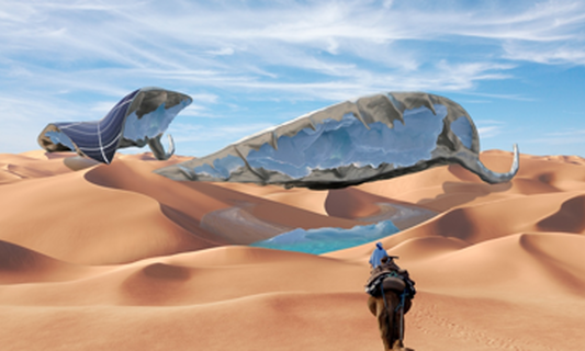 Interview with Ap Verheggen: Glaciers in the desert