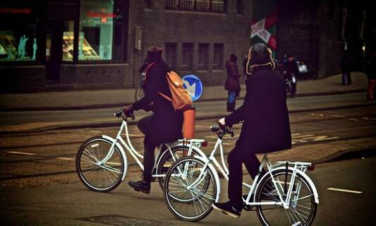 Dutch campaign to tackle night cycling without lights