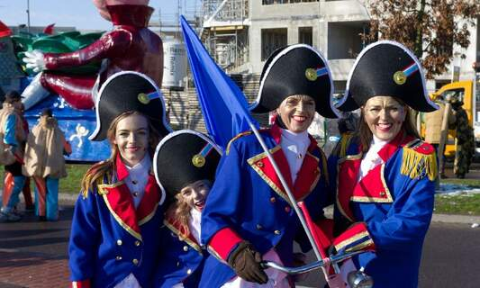 Getting ready for Carnival in Limburg