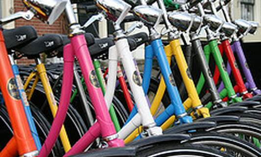 Win free bike rental