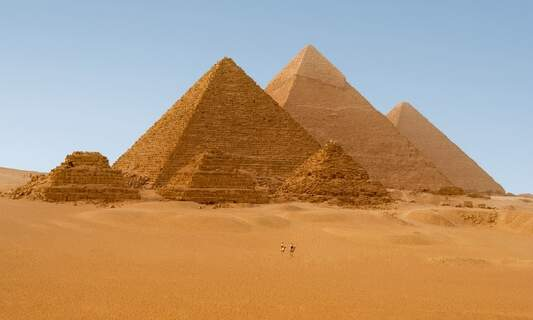 Dutch scientists discover clue to how the great pyramids were built