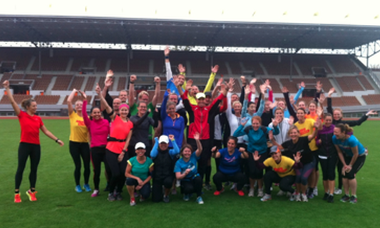 Expat running group in Amsterdam