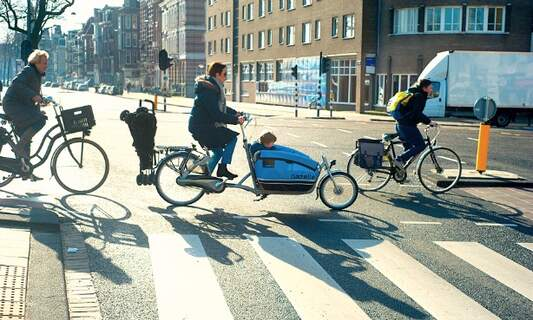 Bicycles used more in Amsterdam than any other European capital
