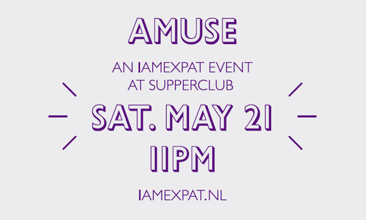 Win one double ticket for AMUSE by IamExpat