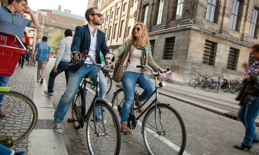 Win two copies of the book The Dutch & Their Bikes!