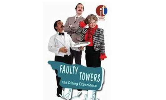 Win two double tickets for Faulty Towers The Dining Experience in Rotterdam
