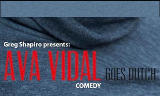 Win two double tickets for Greg Shapiro & Ava Vidal shows