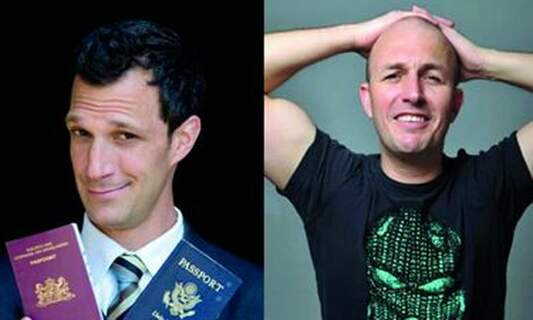 Win thee double tickets to 'Greg Shapiro presents Brendon Burns' comedy tour