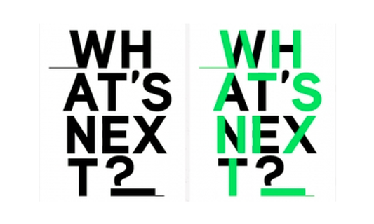 Win three double tickets for What's Next?