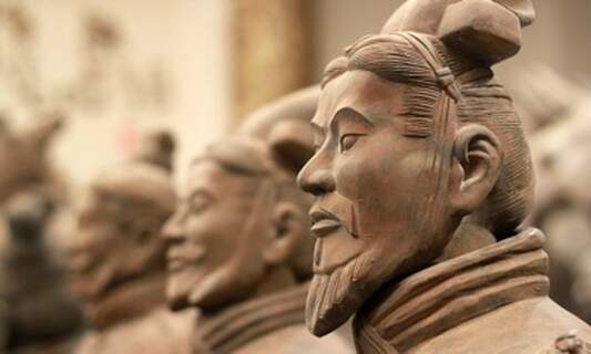 Win three double tickets to the Chinese Terracotta Warriors exhibition