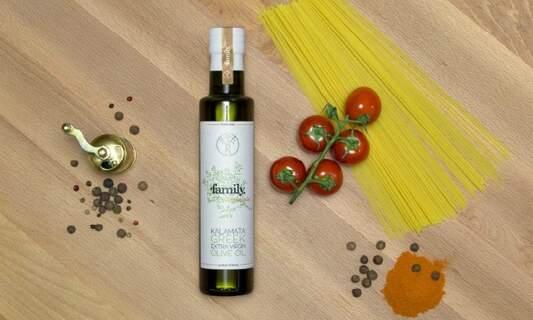 Win 'family. nostalgia' extra virgin olive oil from Kalamata, Greece!