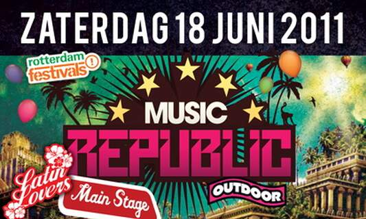 Win one double ticket for Music Republic