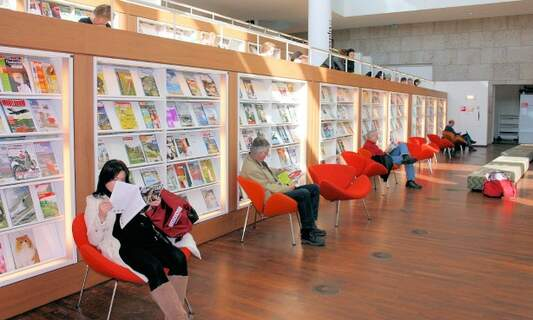 Win five free memberships to the Amsterdam Public Library (OBA)!