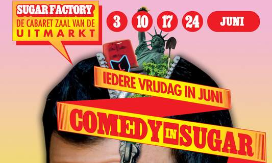 Win four double tickets for Comedy in Sugar