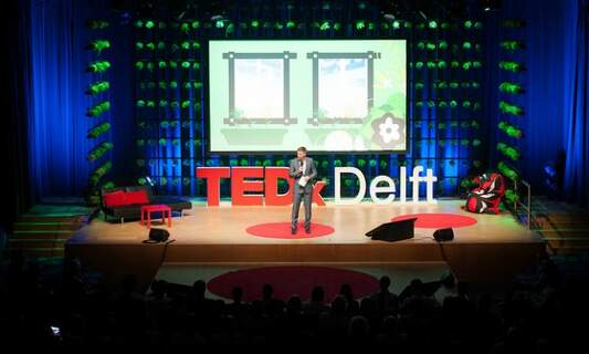 Win two tickets to TEDxDelft!