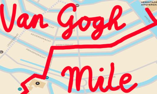 The Van Gogh Mile walking tour