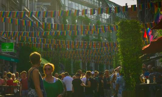 Pride Amsterdam street parties get the green light