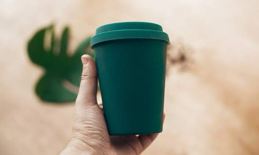 Bamboo coffee cups could pose a health risk!