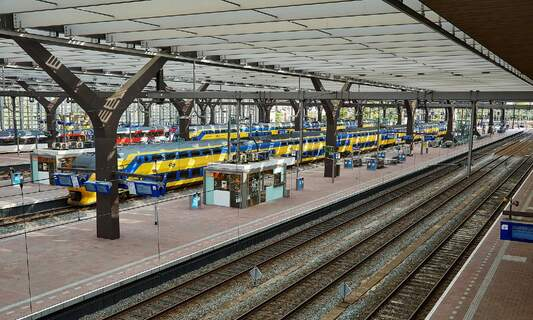 More international rail services available in the Netherlands in 2022