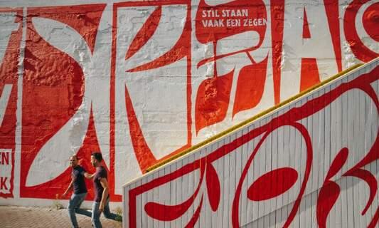 Impressive street art in Rotterdam