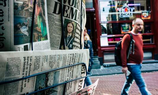 The Netherlands' faith in news increased in 2020